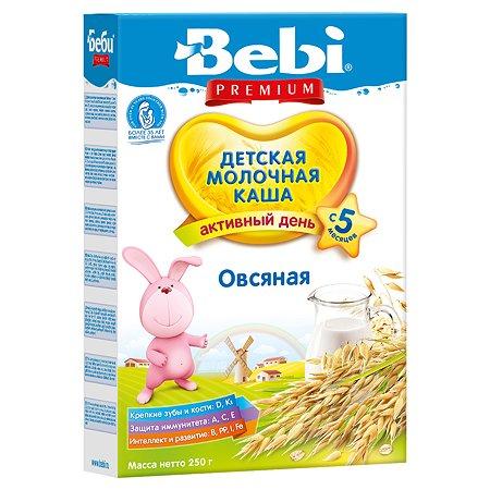 Каша Bebi Premium молочная овсянка 250г с 5месяцев