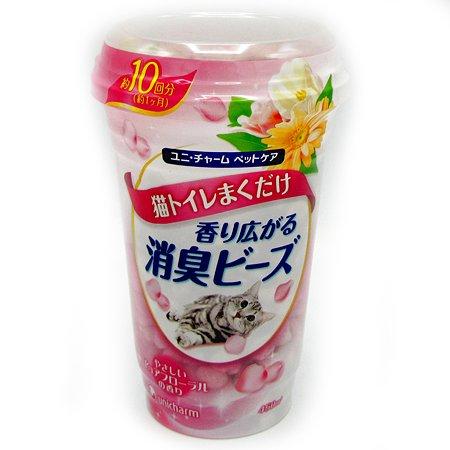 Шарики Unicharm дезодорирующие с цветочным запахом 450мл