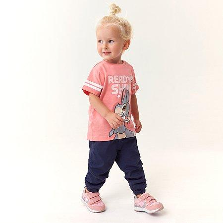 Футболка Disney baby розовая