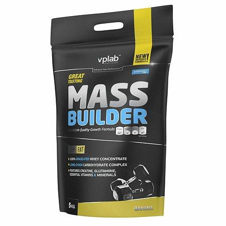 Гейнер VPLAB Mass Builder банан 5кг