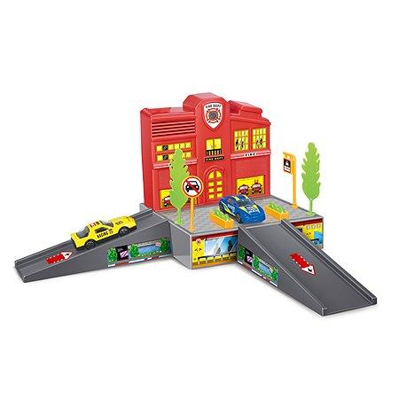 Пожарная станция Dave Toy с 1 машинкой