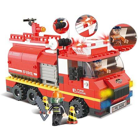 Конструктор SLUBAN Пожарные спасатели ЧП