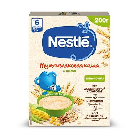 Каша Nestle 5 злаков безмолочная 200г с 6месяцев