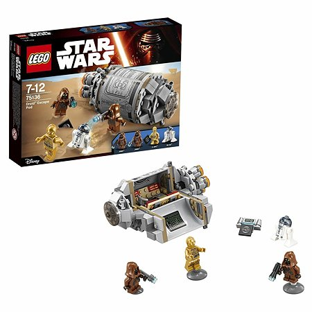 Конструктор LEGO Star Wars TM Спасательная капсула дроидов™ (75136)