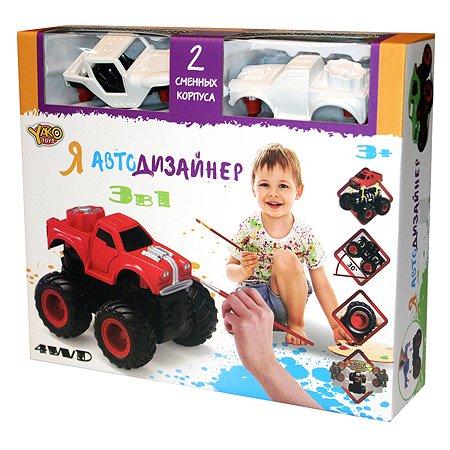 Игровой набор Yako Toys Я Автодизайнер 3 в 1