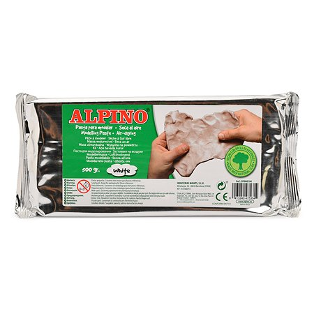 Паста для моделирования ALPINO 500г Белый DP000104