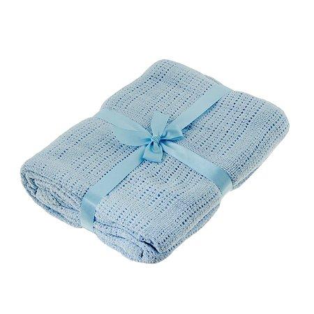 Одеяло вязаное ОТК 100% хлопок 100x140 в ассортименте
