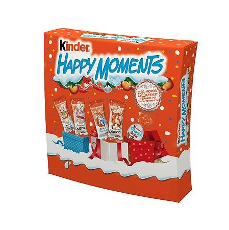 Набор подарочный Kinder Happy moments 242г