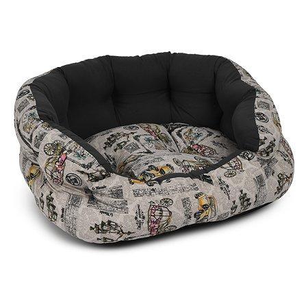 Лежак для животных FAUNA Paris Серый