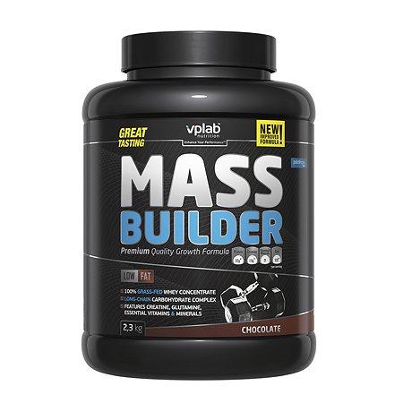Гейнер VPLAB Mass Builder шоколад 2.3кг
