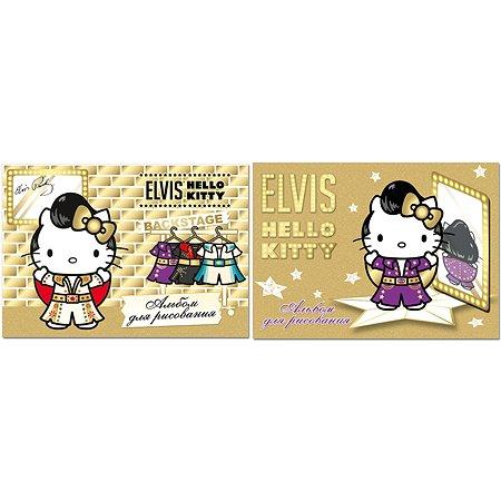 Альбом для рисования Полиграф Принт Hello Kitty 20л в ассортименте