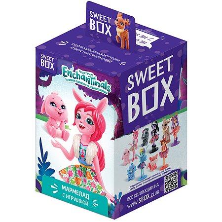 Мармелад Sweet box Enchantimals с игрушкой 10г в непрозрачной упаковке (Сюрприз)