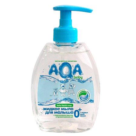Жидкое мыло для малыша AQA baby с дозатором 400 мл