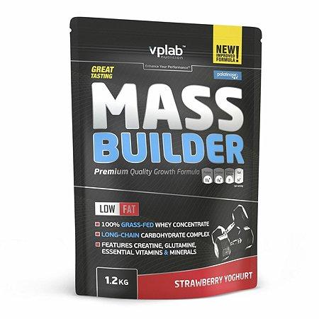 Гейнер VPLAB Mass Builder клубничный йогурт 1.2кг