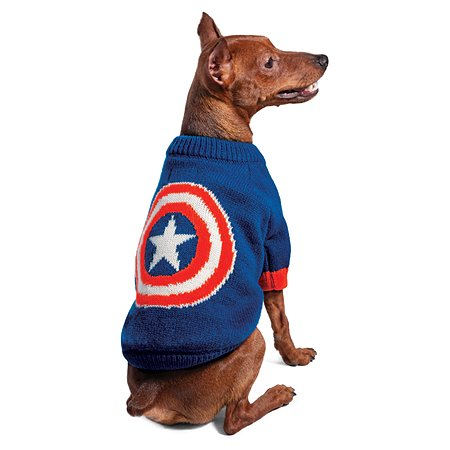 Свитер для животных Triol Disney Marvel Капитан Америка M 12271512
