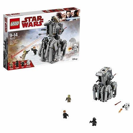Конструктор LEGO Star Wars TM Тяжелый разведывательный шагоход Первого Ордена (75177)