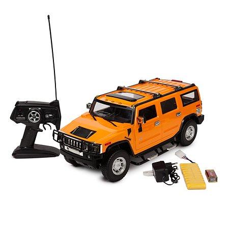 Машинка на радиоуправлении Mobicaro Hummer H2 1:10 Жёлтая