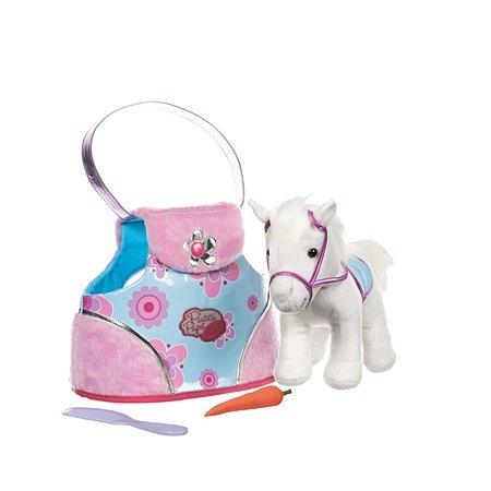 Игрушка мягкая Pucci Pups Сумка в горошек с белой пони ST8275Z