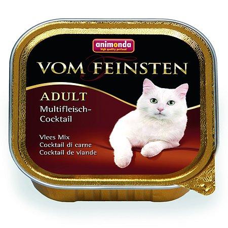 Корм влажный для кошек ANIMONDA Vom Feinsten Adult 100г коктейль из разных сортов мяса пауч