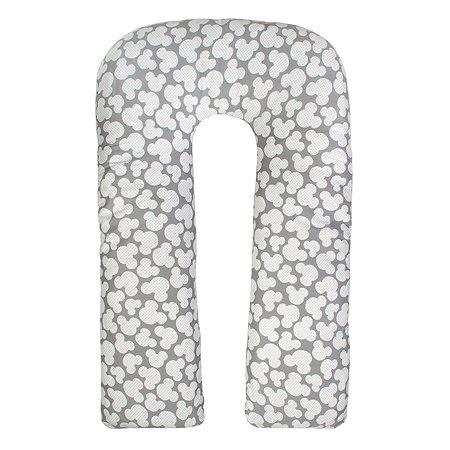 Наволочка к подушке для беременных AMARO BABY Ушки U-образная Серый
