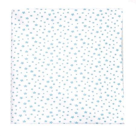 Пеленка AMARO BABY Кристаллы Голубой