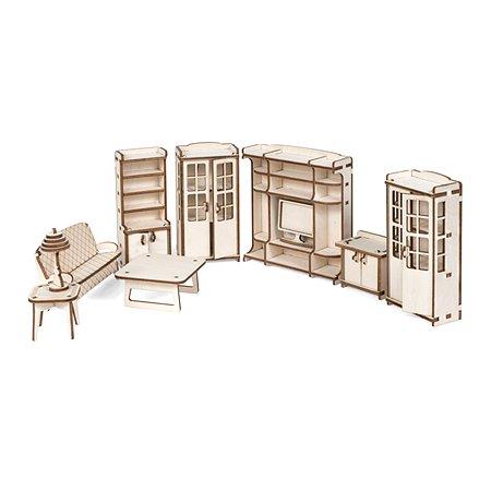 Мебель для куклы Lemmo Гостиная для домика Венеция 76элементов 00-68