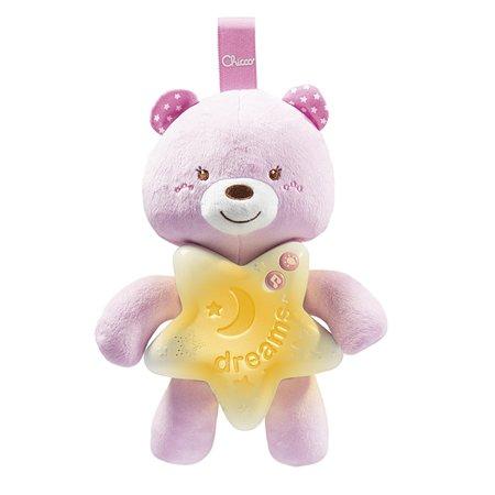 Подвеска-ночник Chicco Медвежонок Розовый 00009156100000