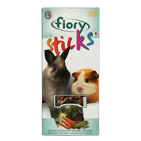 Лакомство для кроликов и морских свинок Fiory Sticks Палочки с овощами 50г 2шт