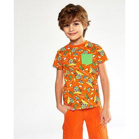 Футболка Futurino Fashion оранжевая