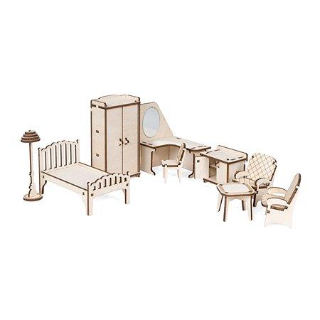 Мебель для куклы Lemmo Спальня для домика Венеция 54элемента 00-69