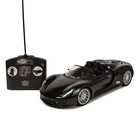 Машинка на радиоуправлении Mobicaro Porsche 918 1:14 Чёрная