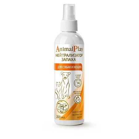 Спрей для собак и кошек Animal Play зоогигиенический нейтрализатор запаха 200мл 69481