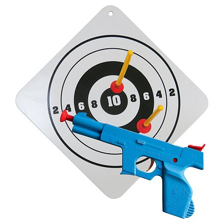 Пистолет BAUER Спецназ с мишенью большой 132