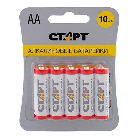 Батарейка СТАРТ алкалиновые (щелочные) тип АА (LR6) 10 шт