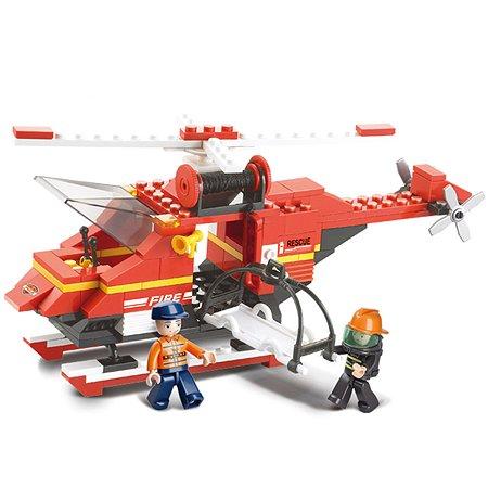 Конструктор SLUBAN Пожарные спасатели Срочный вызов