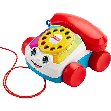 Развивающая игрушка Fisher Price Говорящий телефон на колесах