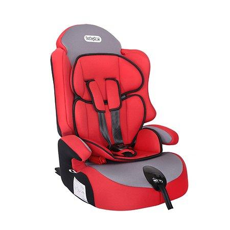 Автокресло Babyton Optimus Fix Lux Red