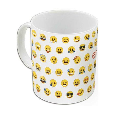 Кружка STOR в подарочной упаковке Emoji Pattern 325 мл