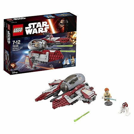 Конструктор LEGO Star Wars TM Перехватчик джедаев Оби-Вана Кеноби™ (75135)