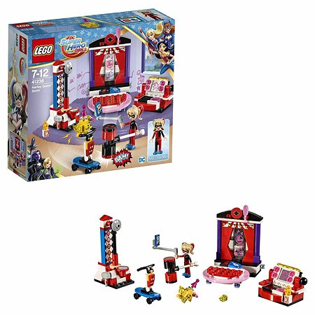 Конструктор LEGO DC Super Hero Girls Дом Харли Квинн (41236)