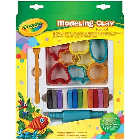 Набор Crayola с незасыхающим пластилином