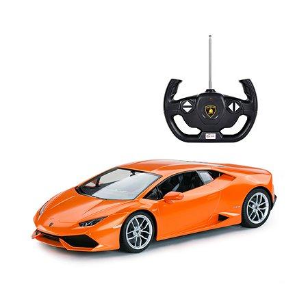Машинка на радиоуправлении Rastar LamborghiniLP610-4 1:14 Оранжевая