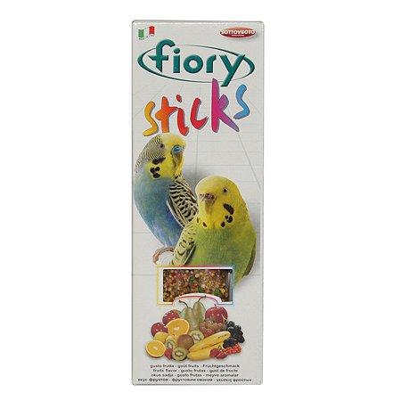 Лакомство для попугаев Fiory Sticks Палочки с фруктами 30г 2шт