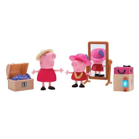 Набор игровой Свинка Пеппа Пеппа и Бабушка в гардеробной 35356