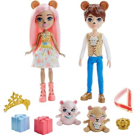 Набор кукол Enchantimals Брейли Миша и Бэннон Миша с питомцами GYJ07