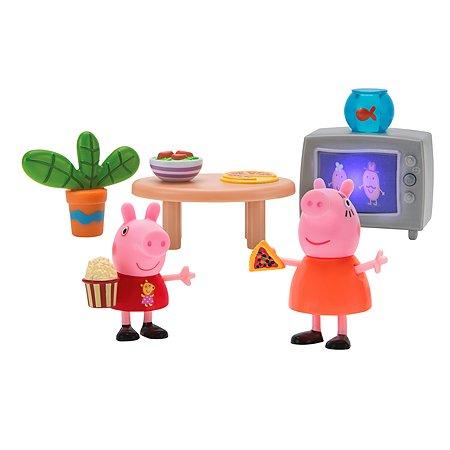 Набор игровой Свинка Пеппа Пеппа и Мама смотрят фильмы 35354