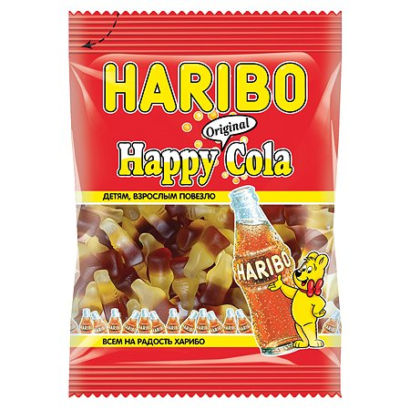 Мармелад жевательный HARIBO Хэппи кола 70г