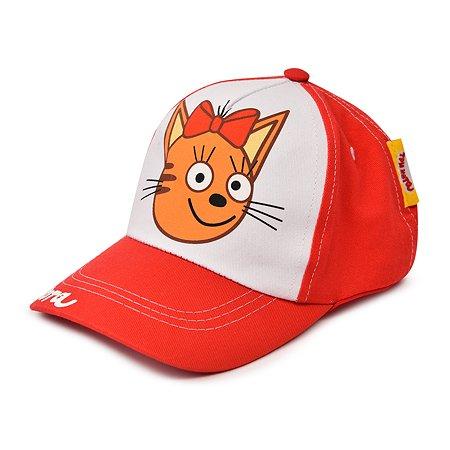 Кепка Три кота красная