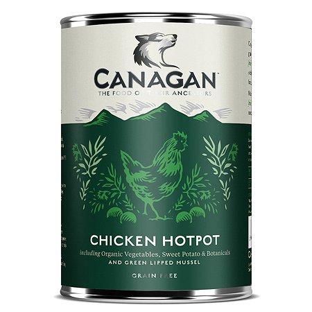 Корм для собак Canagan куриное рагу консервированный 400г