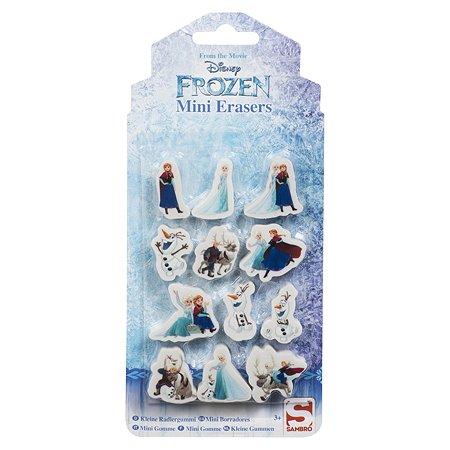 Набор ластиков Sambro Frozen 12 шт DFR8-697